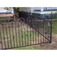 Buy cheap Wrought iron fence from wholesalers