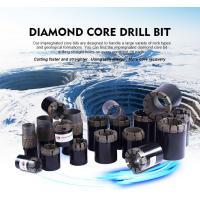Quality High Efficiency Diamond Drilling Tools Rod Shoes / Casing Shoe Bit For Concrete for sale