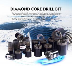 Quality High Efficiency Diamond Drilling Tools Rod Shoes / Casing Shoe Bit For Concrete for sale