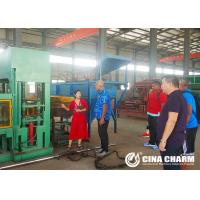 Quality Cement Hollow Block Making Machine 11KW Fully Automatic Convenient Operation for sale