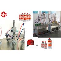 LPG Gas Aerosol Filling Machines, Gas Lighters Refilling Machines Semi Automatic