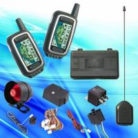 China FM Two Way Car Alarm System with Engine Starter on sale