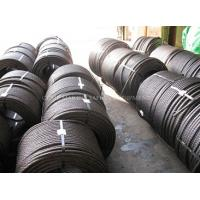 Buy cheap steel wire rope specifications steel tension cable 6x25 marine steel wire rope product