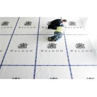 Quality Twin Wall Plastic Sheet / Twin Wall Polypropylene Sheet Floor Protection 2400 x 1200mm for sale