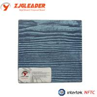 China Prefab house green building material wood grain fiber cement board on sale