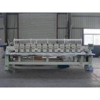 Quality Programmable Embroidery Machine 12 Heads , Flat Knitting Machine With USB Port for sale