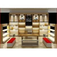 Quality Customized Size Shoe Store Display Shelves For Boutique Brand Shoes Shop for sale