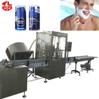 Buy cheap Shaving Foam Bag On Valve Aerosol Filling Machine / BOV Crimping Machine PLC Control from wholesalers