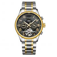 Quality best automatic watches cheap wrist watch automatic chronograph men automatic mechanical watch for sale