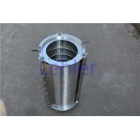 Quality SS316L Hydraulic Filter Element , Wire Mesh Filter For Pulp / Paper Industry for sale