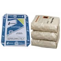 Quality PP Recycled Cement Bags PP Woven Bag For Cement 50 Kg Block Bottom for sale