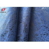 China 50D + 75D Warp Knitted Fabric , Micro Suede Polyester Fabric For Sofa Upholstery on sale
