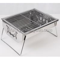 folding portable grill for balconyr outdoors