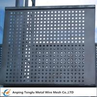 China Perforated Metal Mesh Panels|1220X2440mm Standard Size With Opening 1~30mm on sale