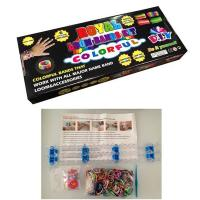 Quality Rubber Band Sports Silicone Bracelets Customized Color Rainbow Loom Kit for sale