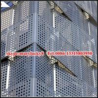 Quality aluminum perforated facade panel/perforated aluminum panel for facade for sale
