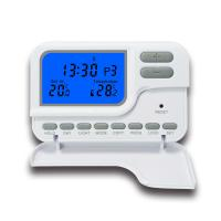 Quality Seven Day Programmable Digital ABS Thermostat Display Accuracy 0.5℃ for sale