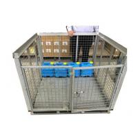 Quality Steel Foldable IBC Metal Cage For Plastic 5L Drum Zinc Galvanised Surface Treatment for sale