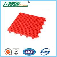 Buy cheap Portable basketball court Interlocking Rubber Floor Tiles 10 Years Using Life from wholesalers