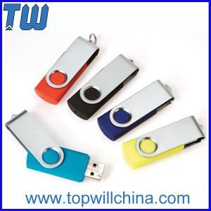 Promotion Swivel Capless Thumbdrive 32GB 64GB with Free Custom Printing