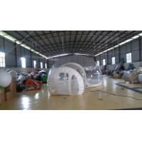 Quality Inflatable Transparent Bubble Tent Belt Steel for Outdoor Camping for sale