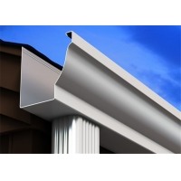 Quality K Style 304 26 Gauge Stainless Steel Gutter for sale
