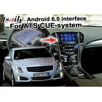 Quality Mirror link cast screen Android navigation box video interface for Cadillac ATS video for sale
