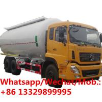 Quality lowest price dongfeng 6x4 diesel 340hp bulk cement tank truck 28 cubic meter for sale, HOT SALE!  bulk powder carrier ve for sale