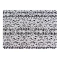 Quality White Polyester Lace Fabric for sale