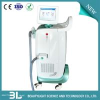 Quality White And Green Diode Laser Hair Removal Machine Womens Beauty Equipment for sale