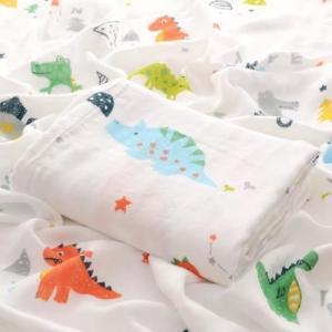 China Comfortable Organic Cotton Muslin Fabric Eco Friendly Original Design on sale