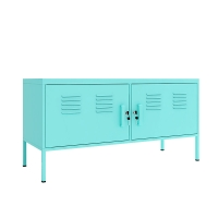 Quality Living Room 0.6mm/0.7mm Colorful Metal Storage Cabinet Steel TV Stand Cabinet for sale
