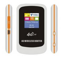 Quality 4G lte Carfi portable LTE router with sim card slot for sale