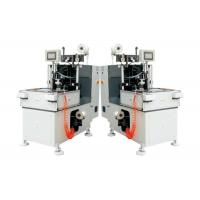 Quality Double Heads Stator Lacing Machine With Turntable For Electrical Fan Motor Making for sale