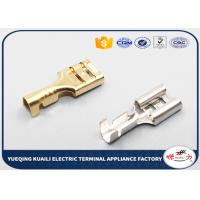 Buy cheap D6.3B wire harness terminal, automotive brass crimp terminal connectors from wholesalers