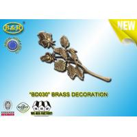 Buy cheap No. BD030 Brass roses bronze funeral decoration size 23.5*11 cm material copper alloy product
