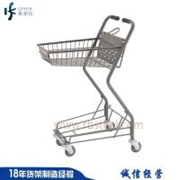 Quality Australia style grocery store metal shopping cart manufacturers China for sale