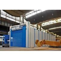 Quality Safety Shot Blasting Room Automatic Recycling System For Engineering Machinery for sale
