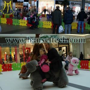 Hansel amusement rides on animal toy animal robot for sale