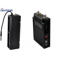 Quality Mobile Networked Long Range Wireless Video Transmitter , Cofdm Video Transmitter MIMO 2*2 for sale
