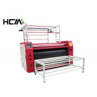 Quality Advertising Slogan Roll To Roll Heat Transfer Machine CE Silent Operation for sale