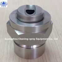 Buy cheap Stainless steel Dovetail groove combined flat fan spray nozzle from wholesalers