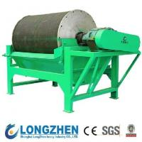 Quality longzhen high efficiency wet Magnetic Roller for iron ore for sale