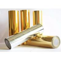 Quality Chemical Resistant Polyester Laminating Film, Reliable Aluminized PET Film for sale