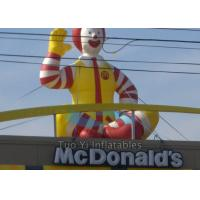 Buy Promotional Inflatable Cartoon Characters , Inflatable McDonald Character at wholesale prices