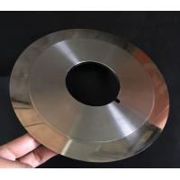 Quality Customized Cloth Cutting Knife , Slitting Carbon Paper Machine Round Cutting Blades for sale