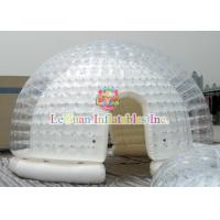 Buy cheap 6m Diameter Inflatable Dome Party Tent Water - Resistant And Fire Resistant product