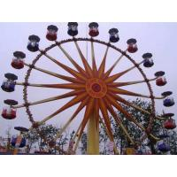 Quality Flower Cabins Design Amusement Park Ferris Wheel Driven By Electric Control System for sale