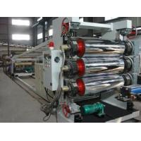China Multilayer Hollow Plastic Sheet Extrusion Line for Cups , PP / PE Box Sheet Extruder on sale