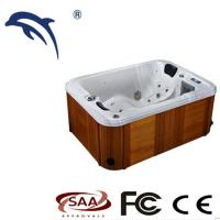 China Acrylic Hot Massage Tub 2 Person Mini Indoor Hot Tub Spa With TV / Wifi on sale